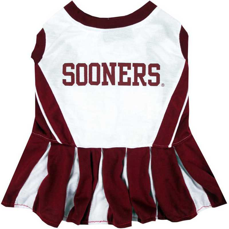OKLAHOMA Pet Cheerleader Outfit