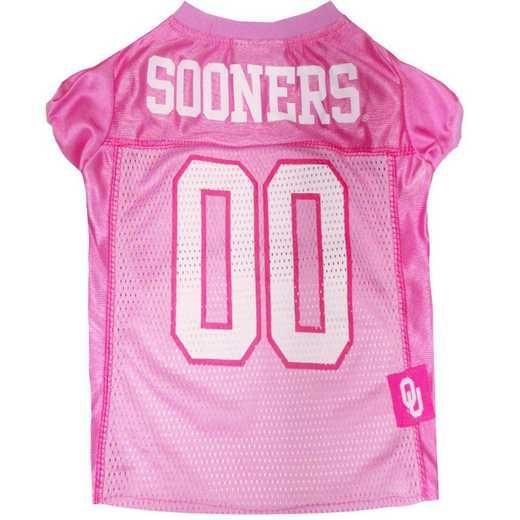 OKLAHOMA Pink Pet Jersey