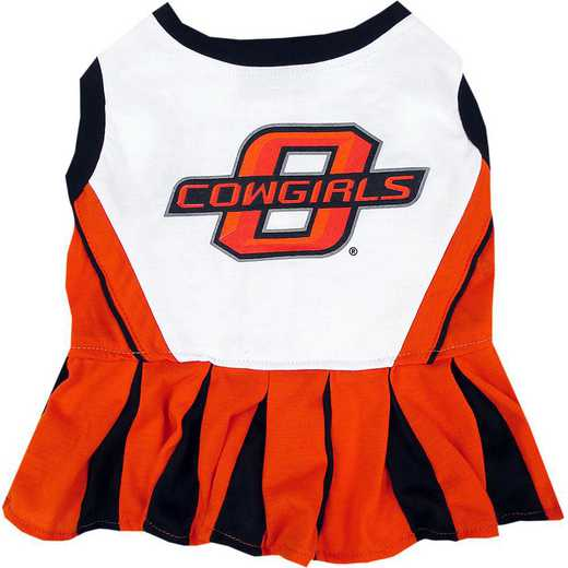 OKLAHOMA STATE Pet Cheerleader Outfit