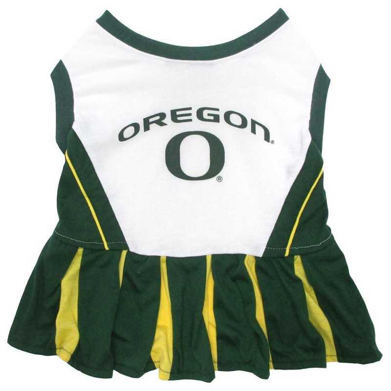 OREGON Pet Cheerleader Outfit