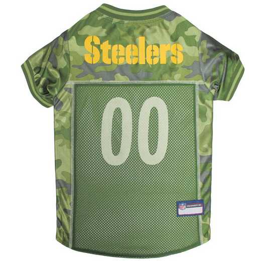 PIT-4060-XL: PITTSBURGH STEELERS CAMO JERSEY