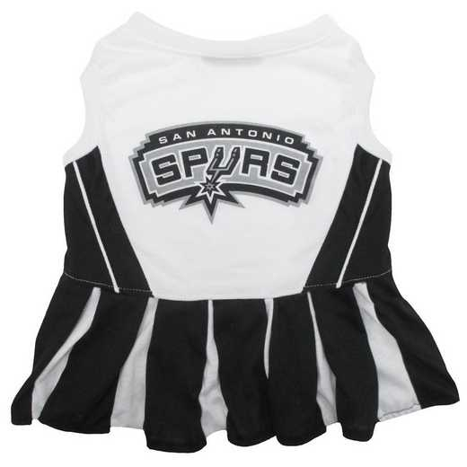 SAN ANTONIO SPURS Pet Cheerleader Outfit
