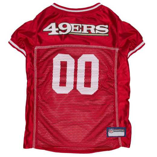SAN-4006-XL: SAN FRANCISCO 49ERS Mesh Pet Jersey