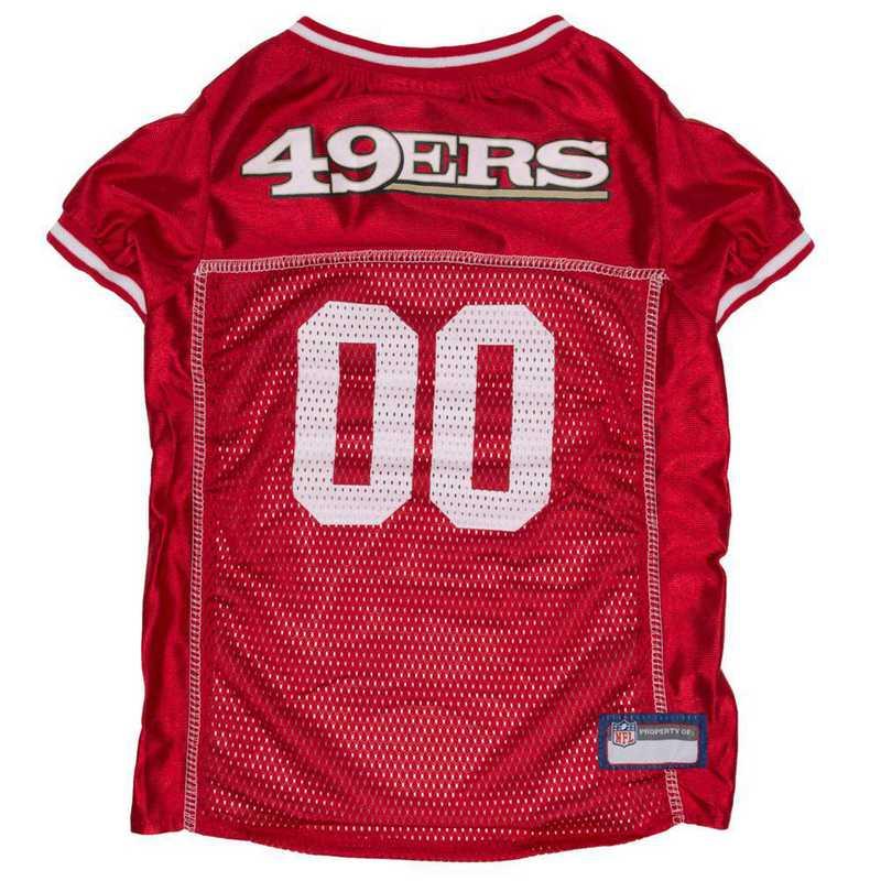SAN-4006-XXL: SAN FRANCISCO 49ERS Mesh Pet Jersey