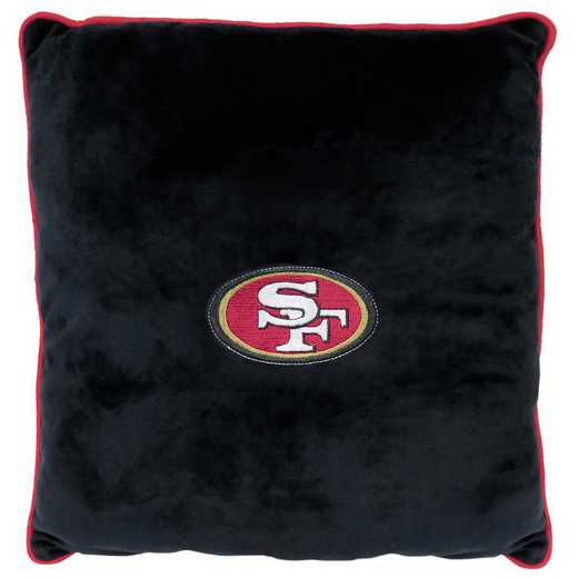 SAN-3195: SAN FRANCISCO 49ERS PILLOW
