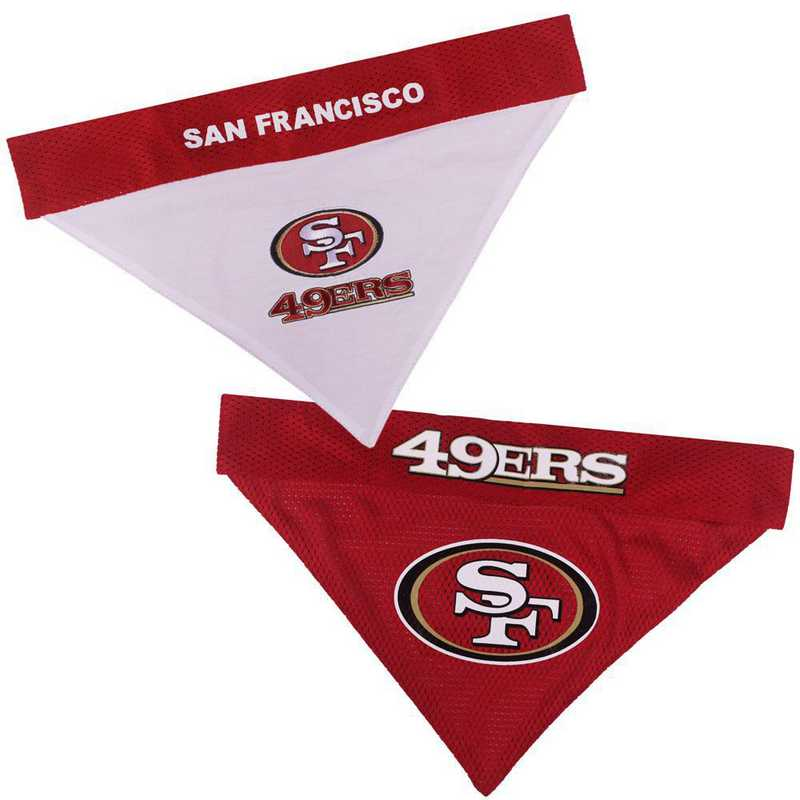 SAN FRANCISCO 49ERS Reversible Pet Bandana