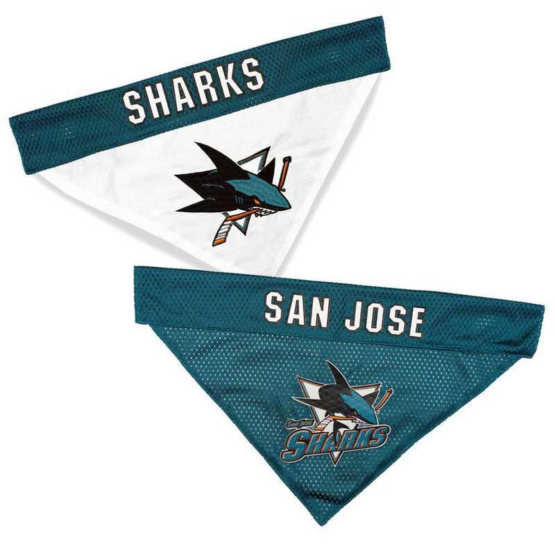 SAN JOSE SHARKS Reversible Pet Bandana