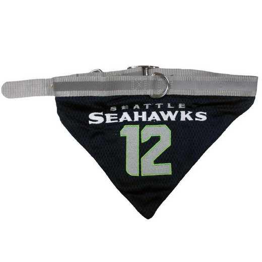 SEAHAWKS #12 Bandana Dog Collar