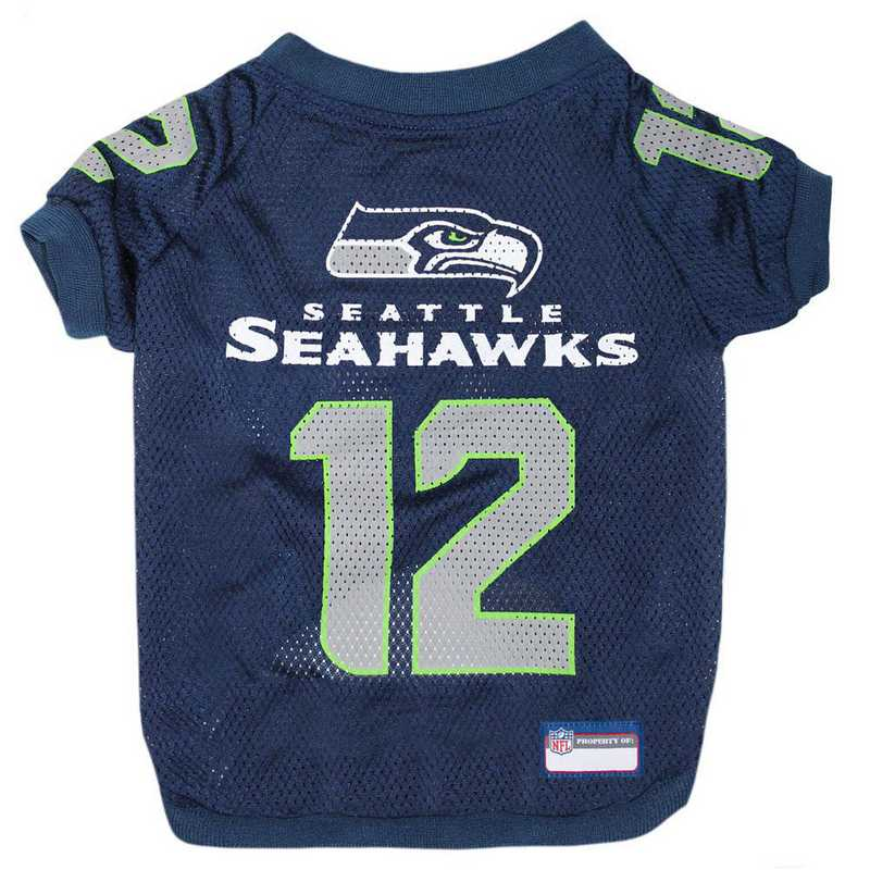 SEA-4000-XXL: SEATTLE SEAHAWKS RAGLAN JERSEY #12