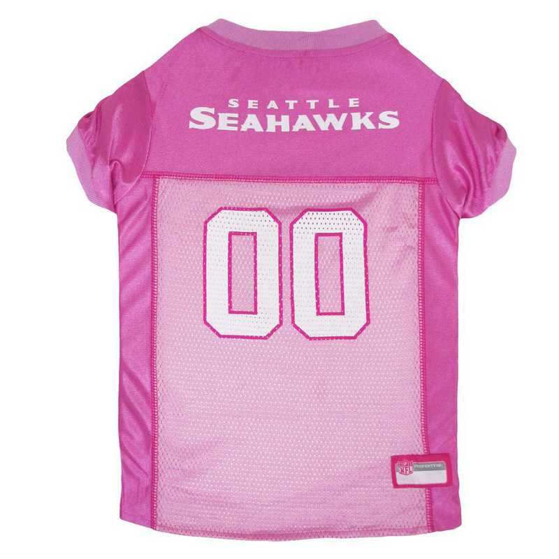 SEATTLE SEAHAWKS Pink Pet Jersey