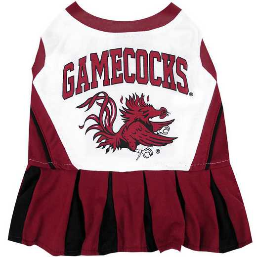 SOUTH CAROLINA Pet Cheerleader Outfit