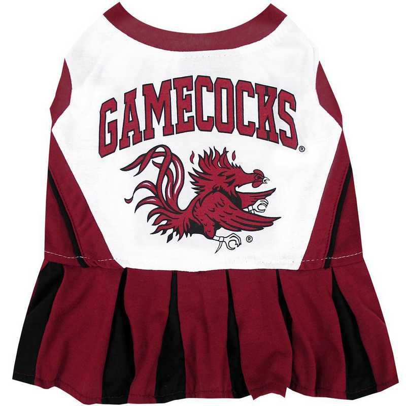 SOUTH CAROLINA Pet Cheerleader Outfit