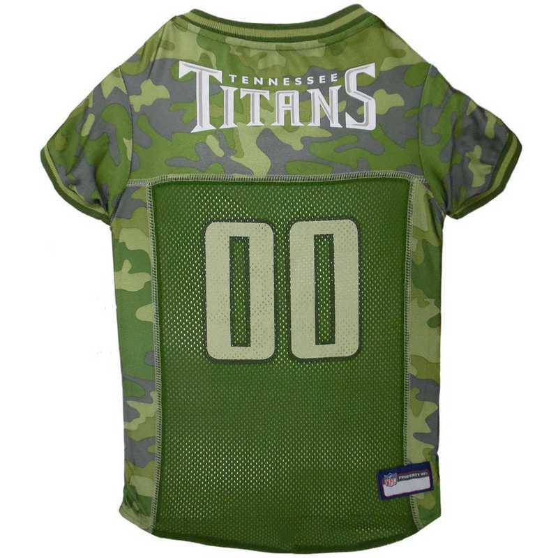TENNESSEE TITANS Pet Camo Jersey