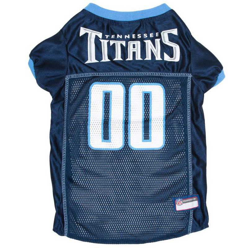 TEN-4006-XL: TENNESSEE TITANS Mesh Pet Jersey