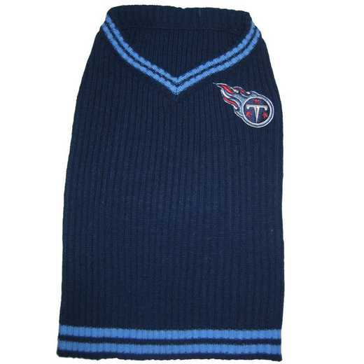 TENNESSEE TITANS Pet V-Neck Sweater