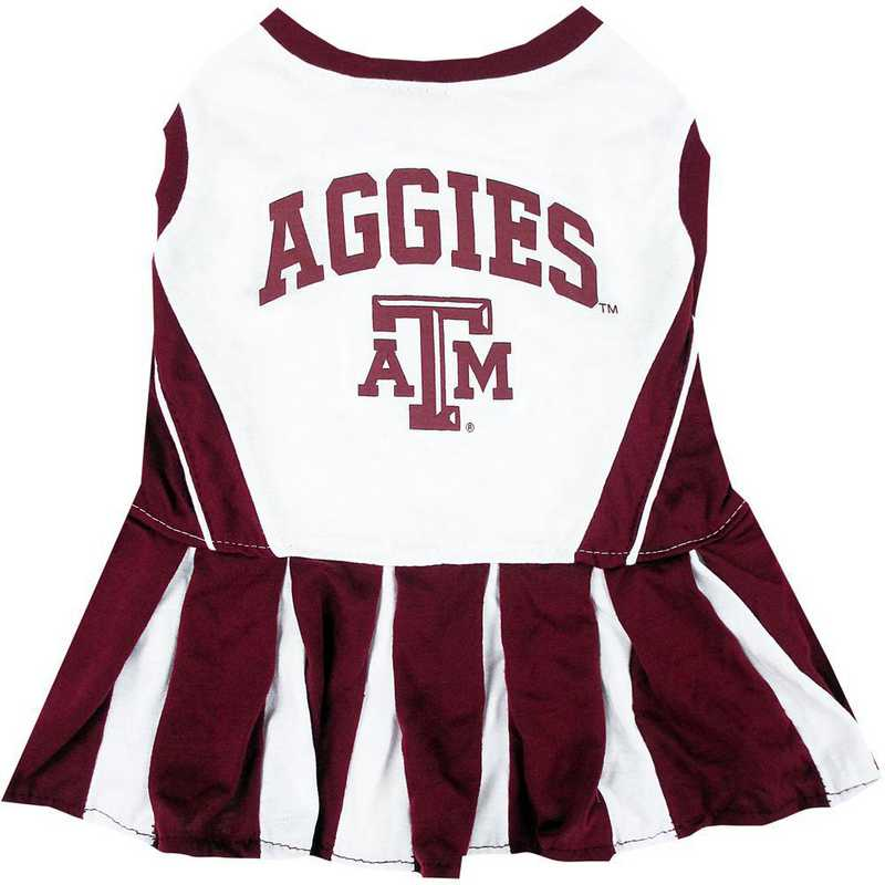 TEXAS A & M Pet Cheerleader Outfit
