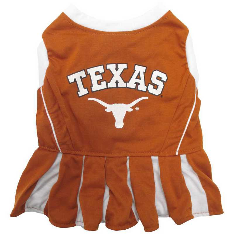 TEXAS Pet Cheerleader Outfit