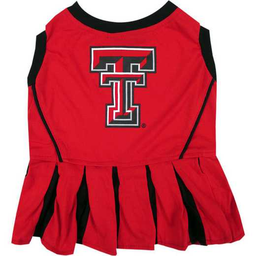 TEXAS TECH Pet Cheerleader Outfit