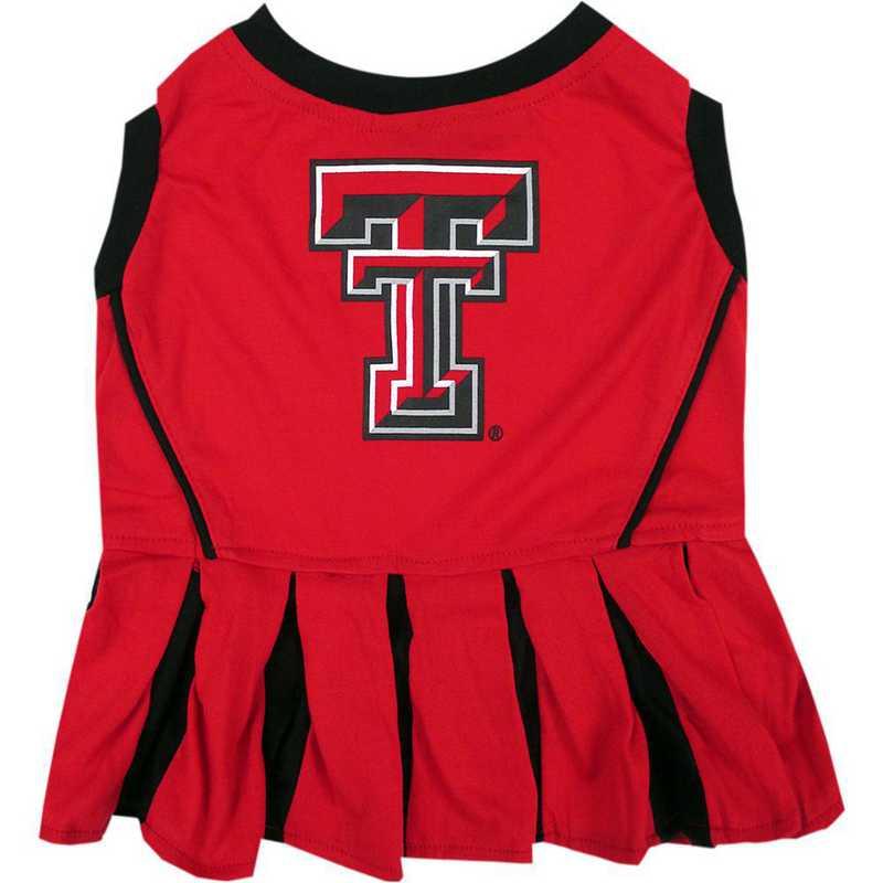 TEXAS TECH Pet Cheerleader Outfit