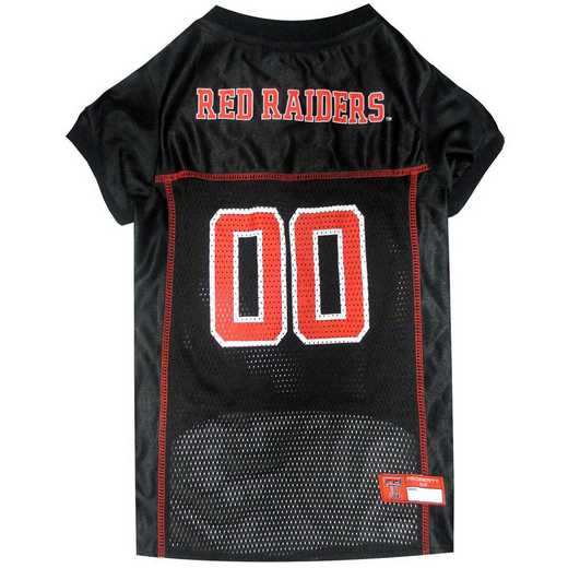 TT-4006-XL: TEXAS TECH Mesh Pet Jersey