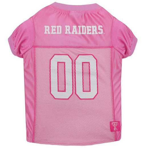TEXAS TECH Pink Pet Jersey