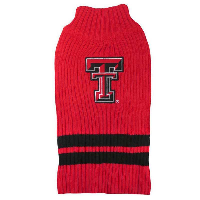TEXAS TECH Pet Turtleneck Sweater