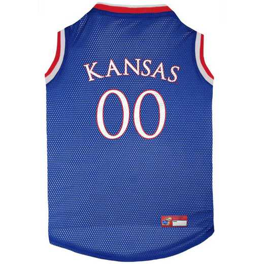 KANSAS Mesh Basketball Pet Jersey