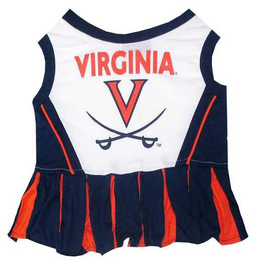UVA-4007: VIRGINIA Pet Cheerleader Outfit