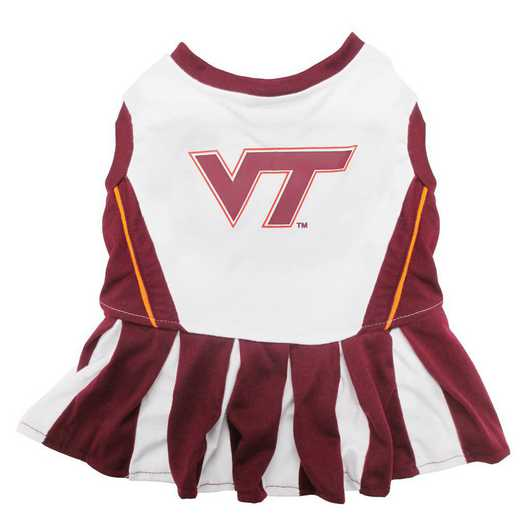 VT-4007: VA TECH Pet Cheerleader Outfit
