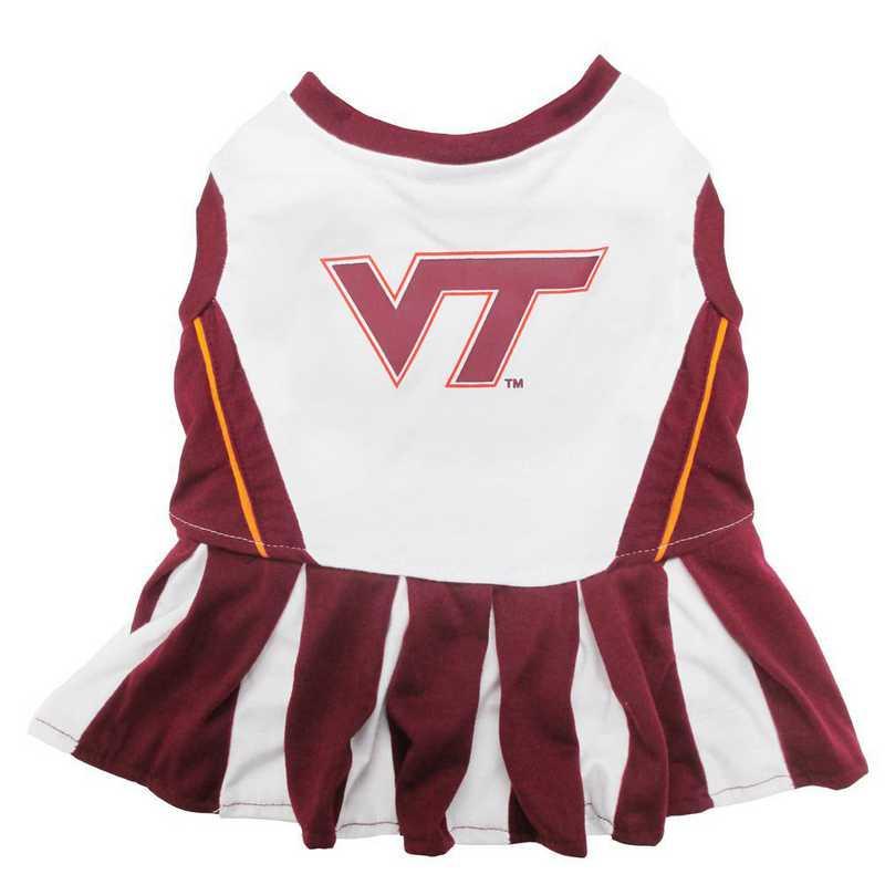 VT-4007: VA TECH Pet Cheerleader Outfit