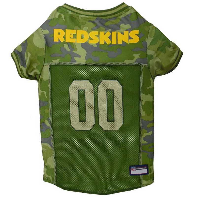 WAS-4060-XL: WASHINGTON REDSKINS CAMO JERSEY