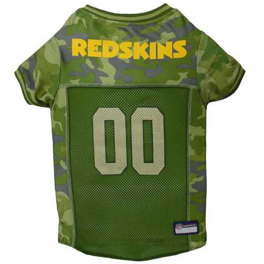 WASHINGTON REDSKINS Pet Camo Jersey