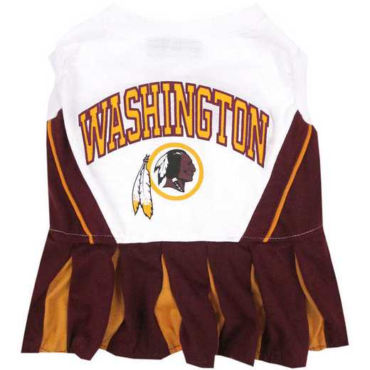 WAS-4007: WASHINGTON REDSKINS Pet Cheerleader Outfit