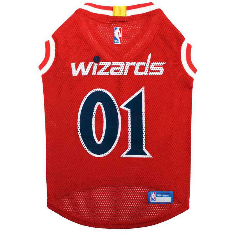 WWZ-4047-XL: WASHINGTON WIZARDS BASKETBALL Mesh Pet Jersey
