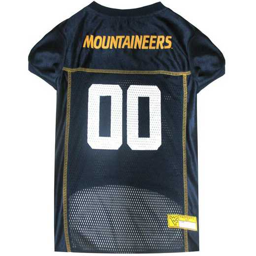 WVU-4006-XL: WEST VIRGINIA Mesh Pet Jersey