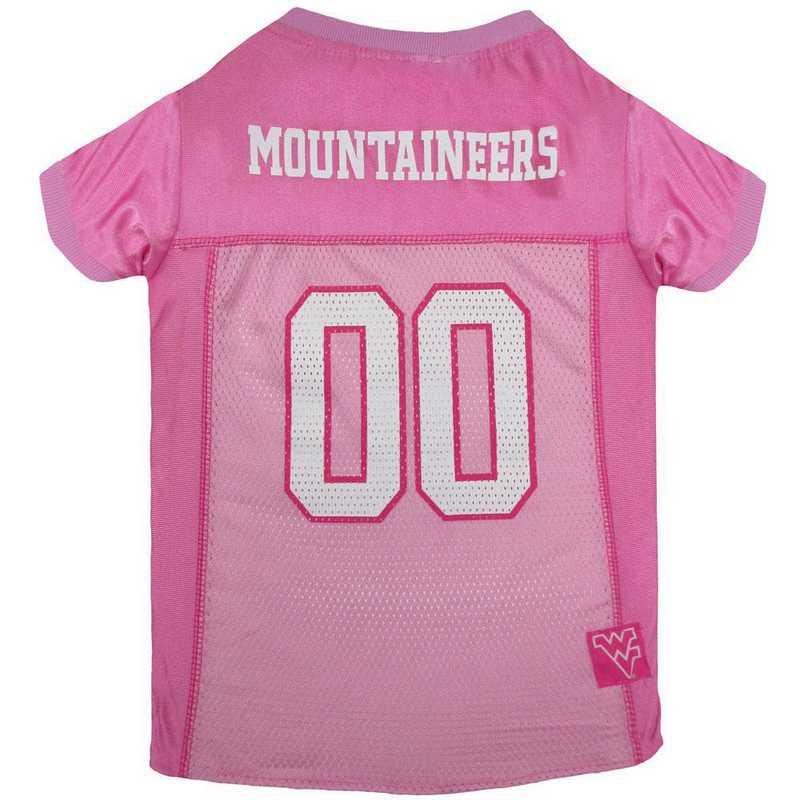 WEST VIRGINIA Pink Pet Jersey