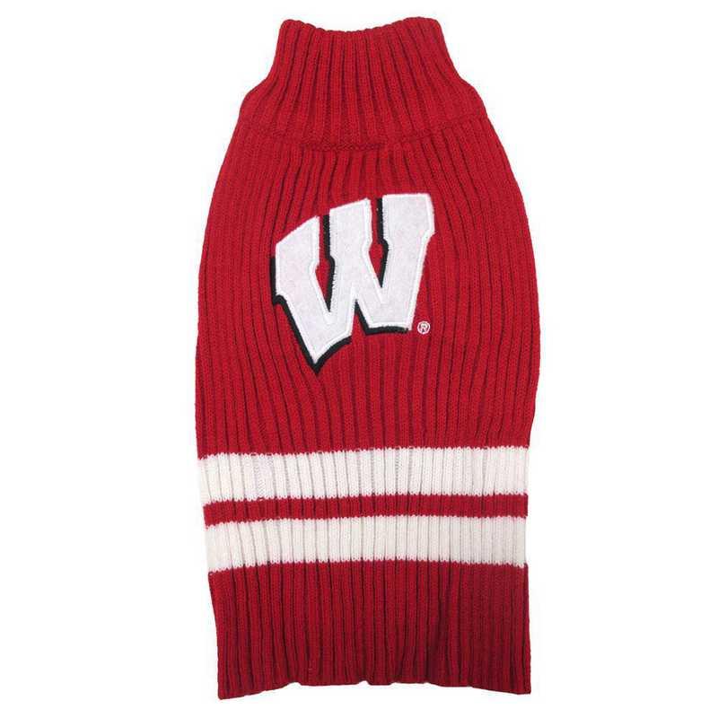 WISCONSIN Pet Turtleneck Sweater