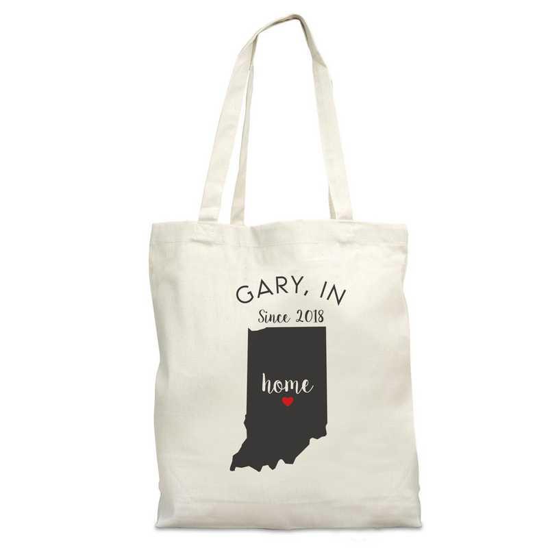 8110622IN: Nat Canvas Tote Bag-IN