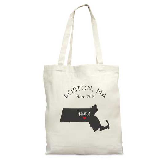 8110622MA: Nat Canvas Tote Bag-MA