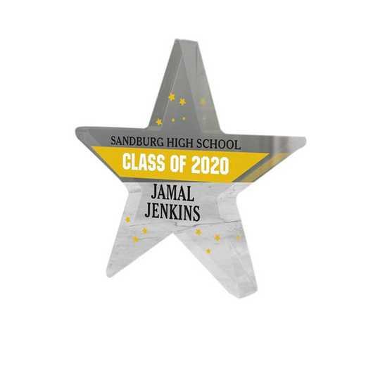 3126137: PGS Graduation Star Keepsake