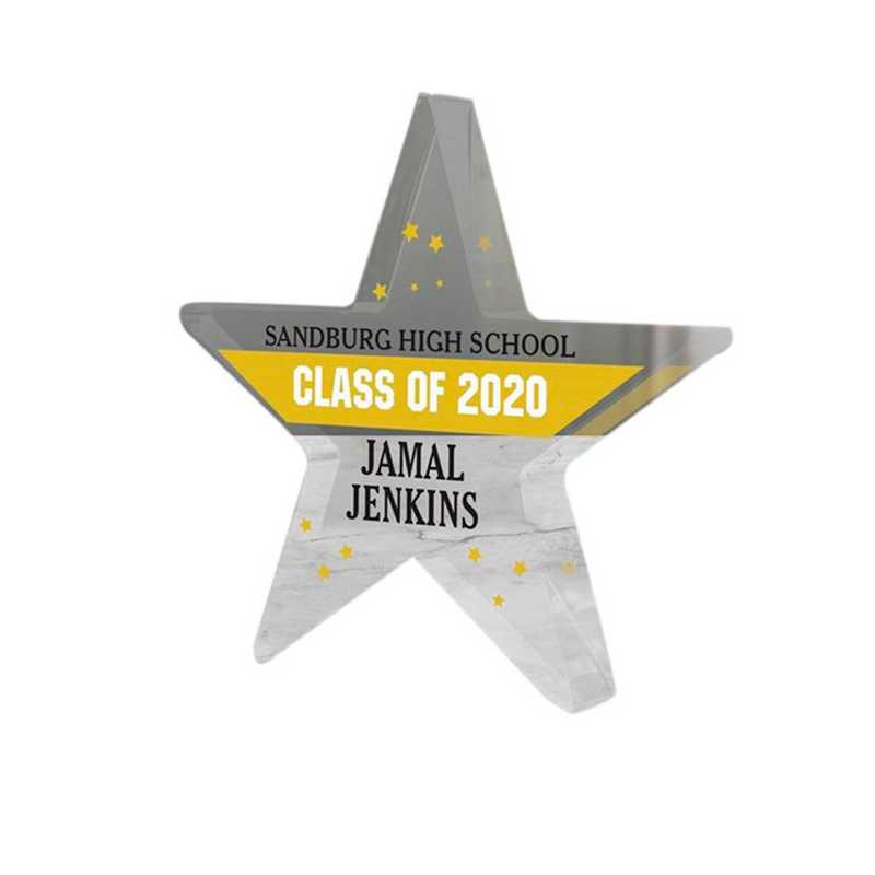 3126137: PGS Graduation Star Keepsake