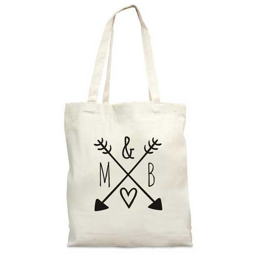 8102982: ARROW AND INITIALS BAG