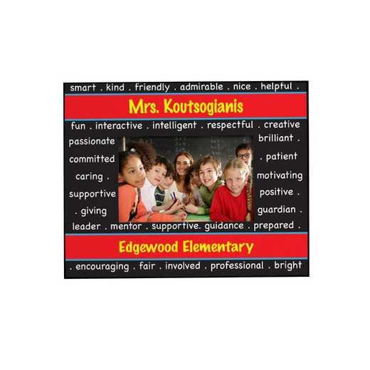 459110: Teacher Wooden Printed Frame