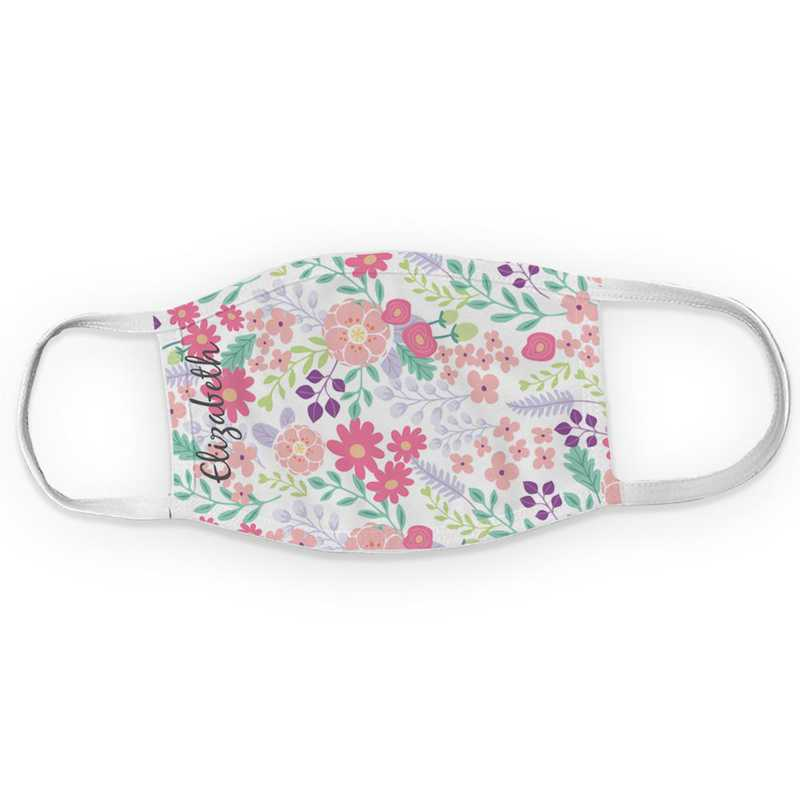 U11516134: Floral Family Adult Face Mask