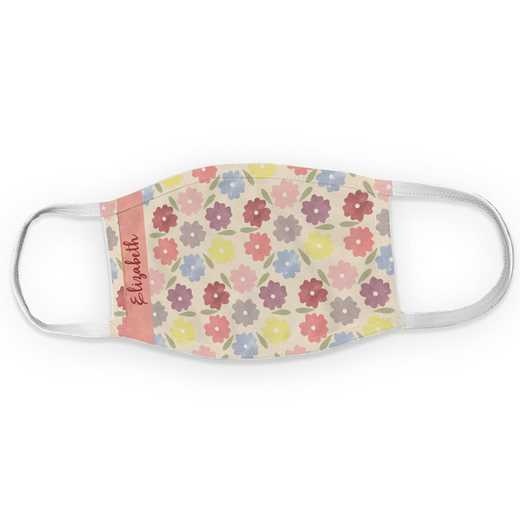 U12525135: Pansy Floral Child Mask