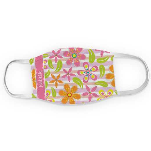 U14310135: Floral Pattern Child Mask