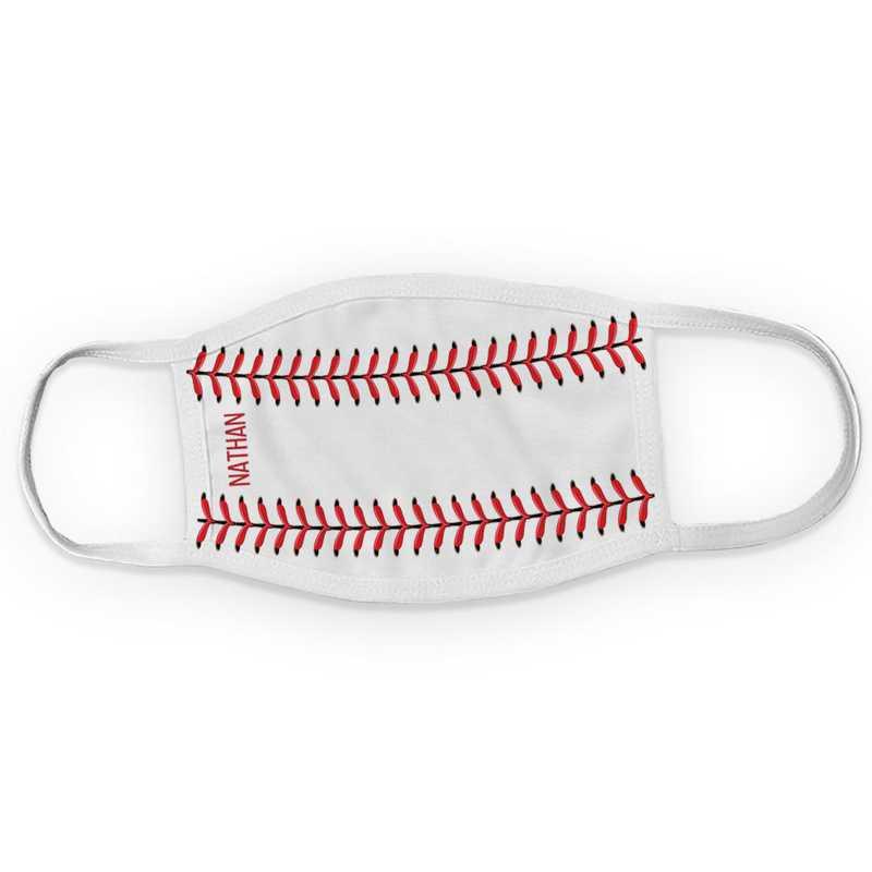 U16734134: Baseball Adult Mask