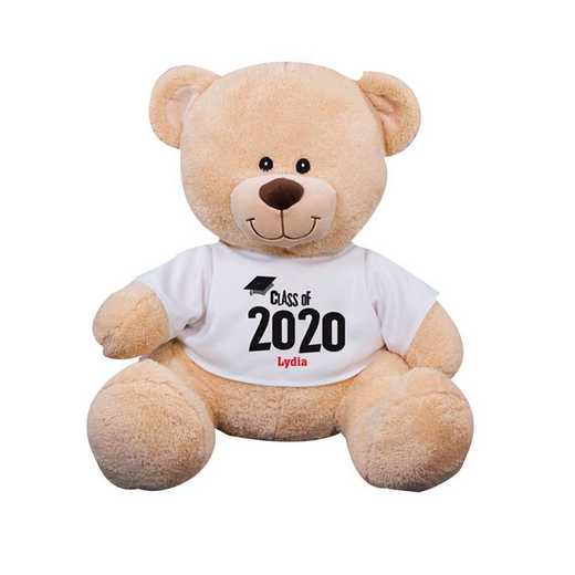 837799B13: PGS Graduation Sherman Bear 11 inch