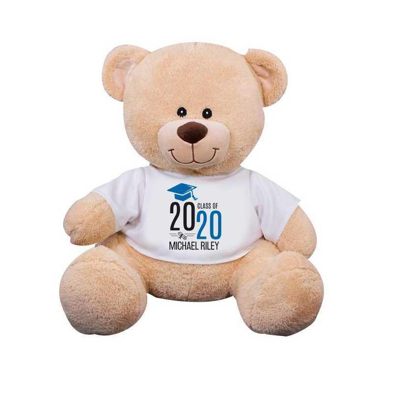 8314007B13BL: PGS Bear Grad Cap 13