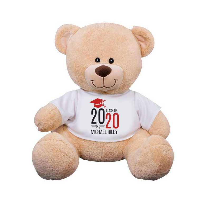 8314007B13RD: PGS Bear Grad Cap 13